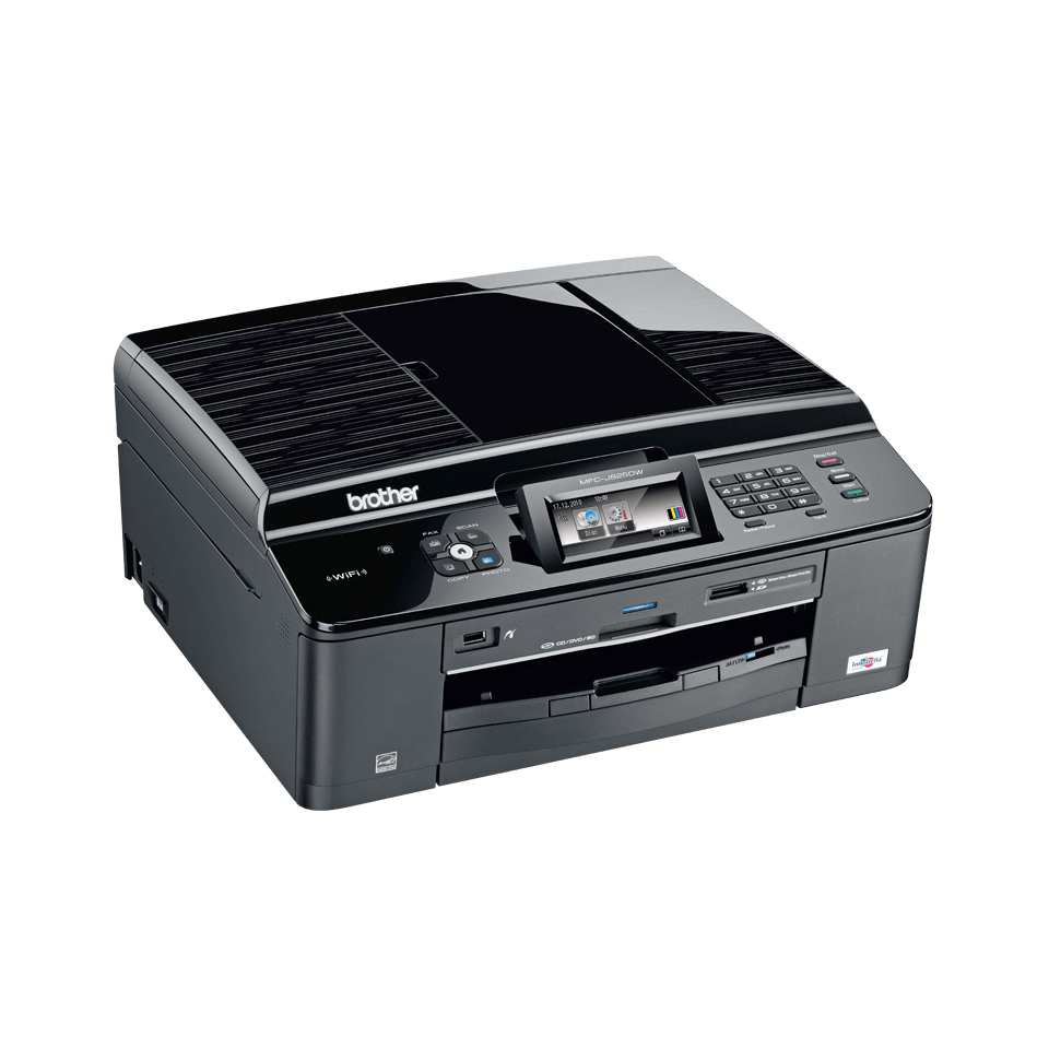 imprimante fax jet d encre couleur sans fil brother mfc j825dw. Black Bedroom Furniture Sets. Home Design Ideas