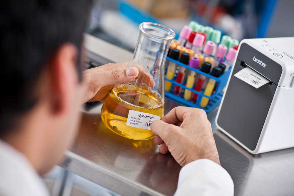 Doctor labelling sample