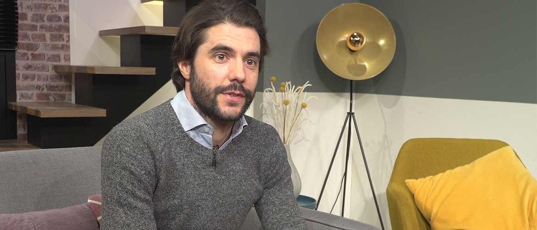 Portrait d'Adrien Vaissade, cofondateur et CEO de l'application Cleed
