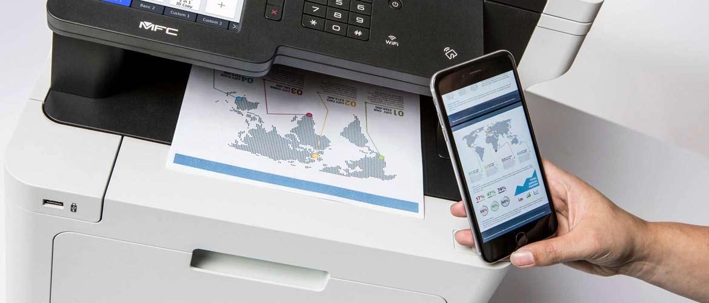 Imprimez sans fil avec l'application iPrint&Scan