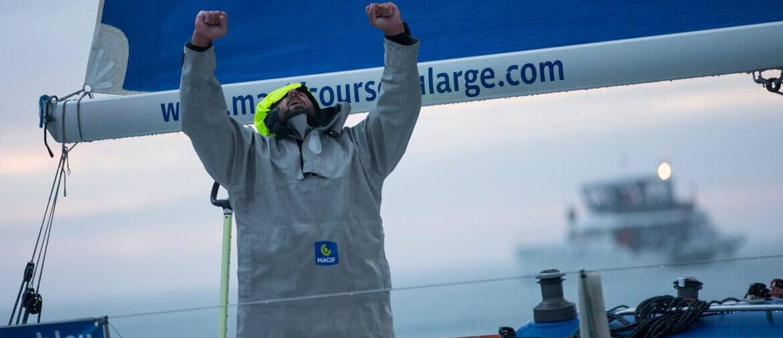 Yoann Richomme, skipper challenger de la Route du Rhum 2018
