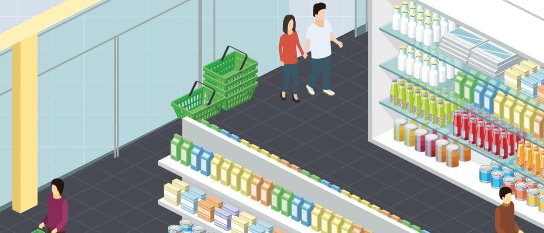 Les commerces de proximité à la pointe de la technologie.