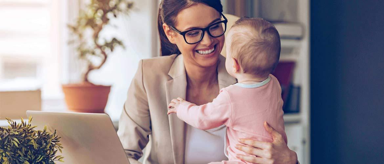 Mamans et chef d'entreprise