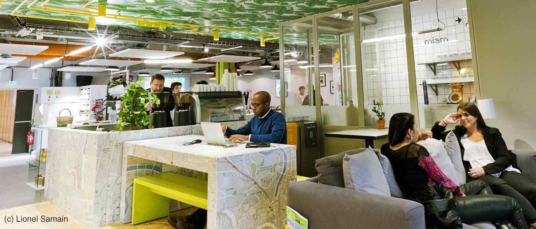 Nextdoor ou le coworking convivial et connecté haut en couleurs