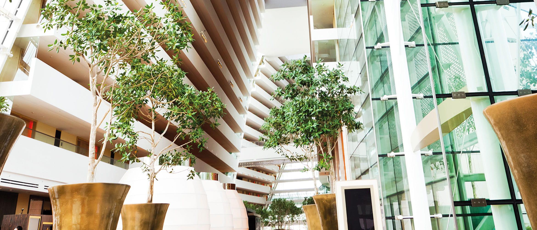 Le bureau de demain devra combiner technologie, développement durable, bien-être, confort et design afin d'offrir l'équilibre attendu par les employés.