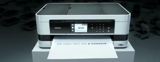Découvrez la vidéo réalisée par Brother dans le cadre de la sortie de sa nouvelle gamme d'imprimantes jet d'encre Print 3.0.