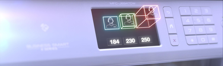 Imprimante multifonction Brother MFC-J6947DW avec écran tactile retroéclairé