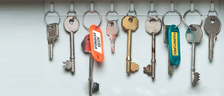 étiquetage des clés