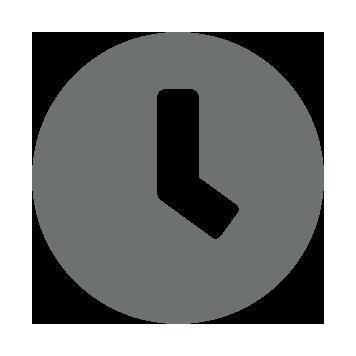 Icône d'une horloge crise