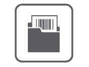 Icône Barcode utility