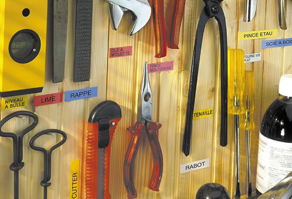 Etiqueteuse P-touch pour le Garage