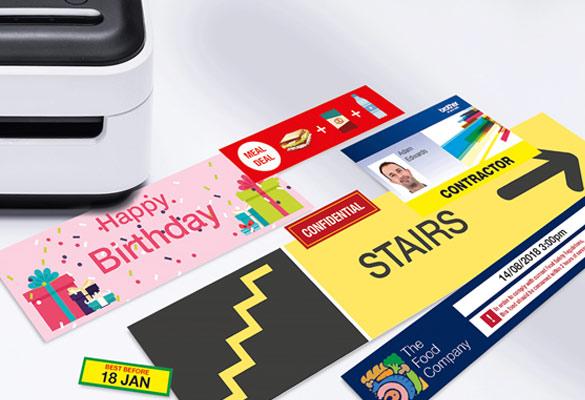 Imprimantes d'étiquettes, titreuses et étiqueteuses dédiées aux professionnels