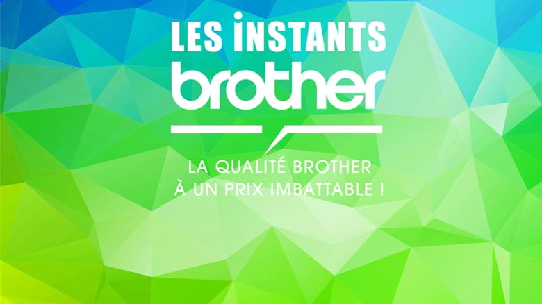 Promotions 100% online, Les instants Brother