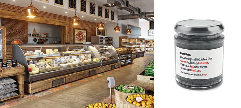 QL-800 étiqueteuse pour les métiers de la boucherie