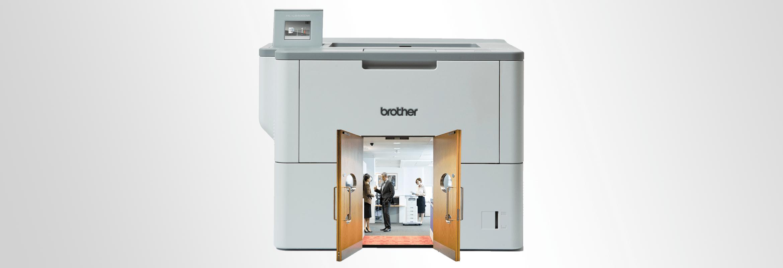 Découvrez la gamme d'imprimantes laser L6000 de Brother
