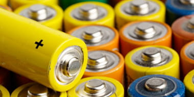Recyclage de piles et batteries
