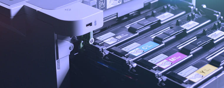 Cartouches toners extraites de l'imprimante couleur professionnelle HL-L9310CDW