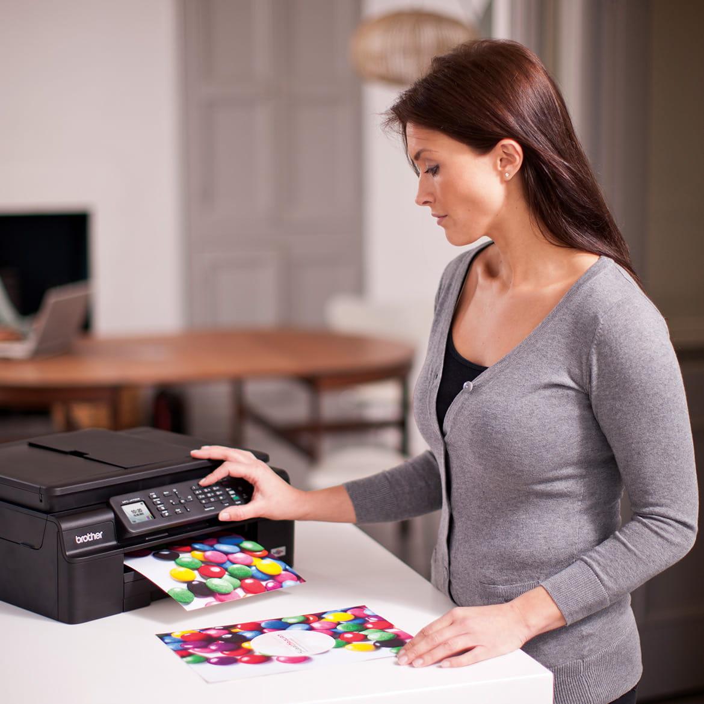 Imprimantes multifonctions pour la maison et le travail à domicile