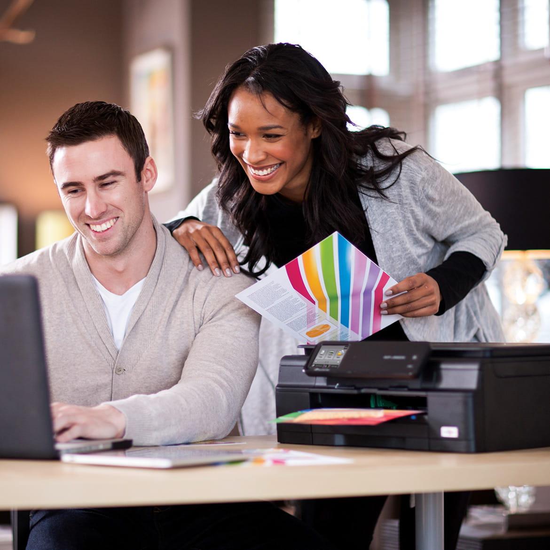 Imprimantes multifonctions professionnelles pour la maison et le travail à domicile