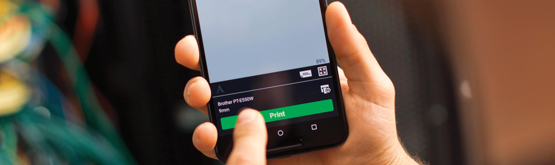 Imprimez depuis votre smartphone avec iPrint&Label