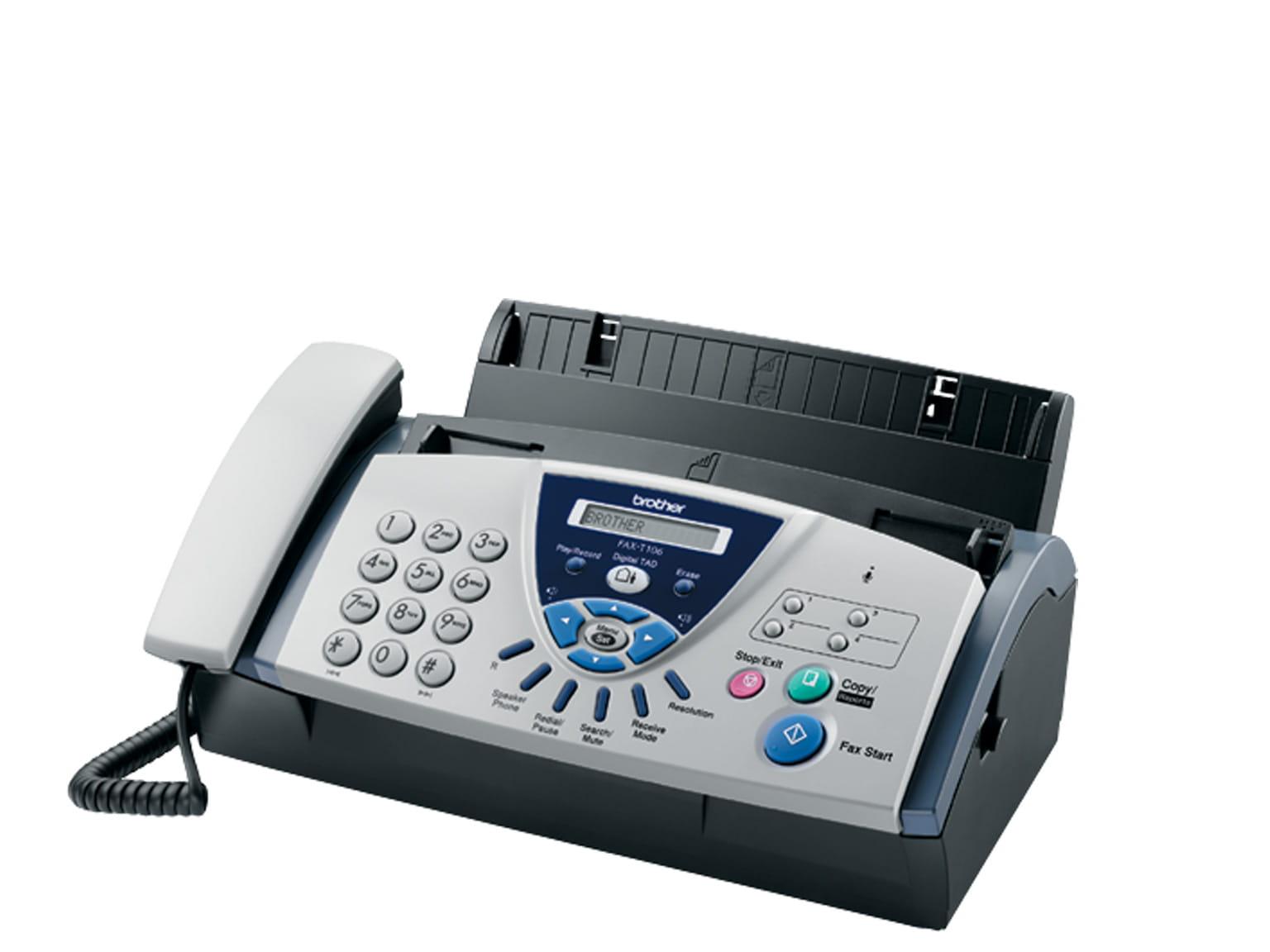 Découvrez les fax thermiques de Brother