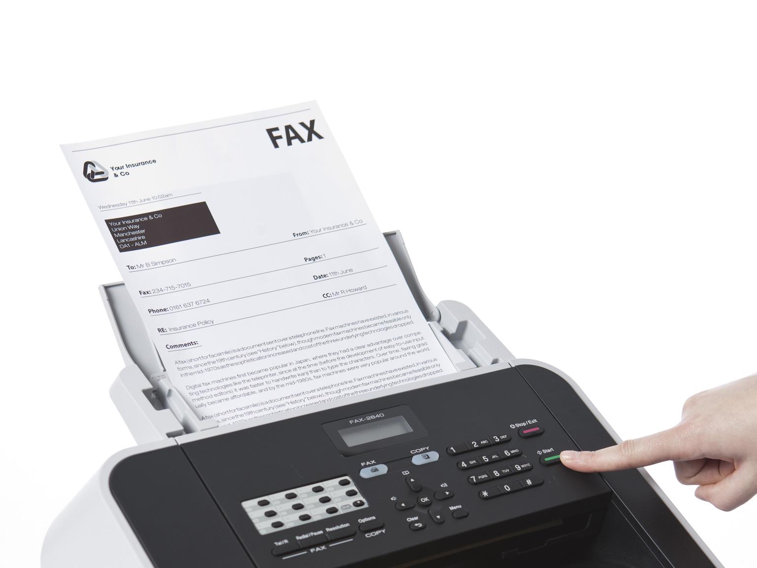 Découvrez tous les fax Brother