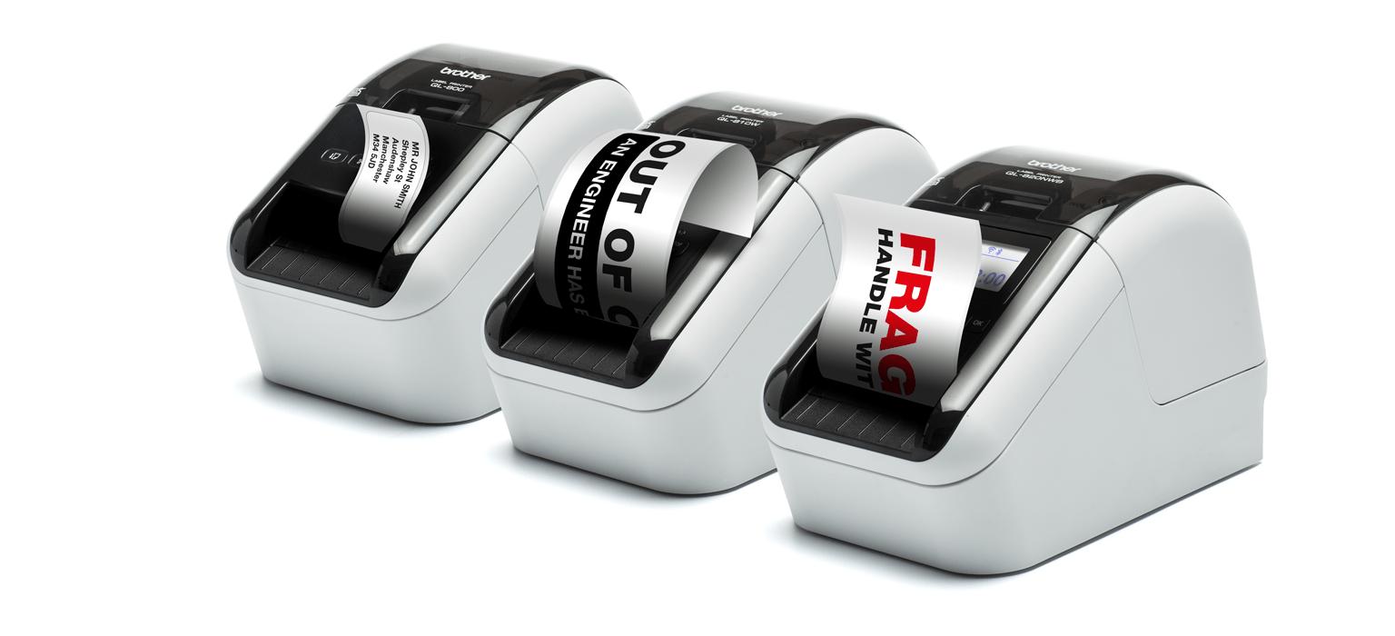 gamme d'étiqueteuses professionnelles QL-800