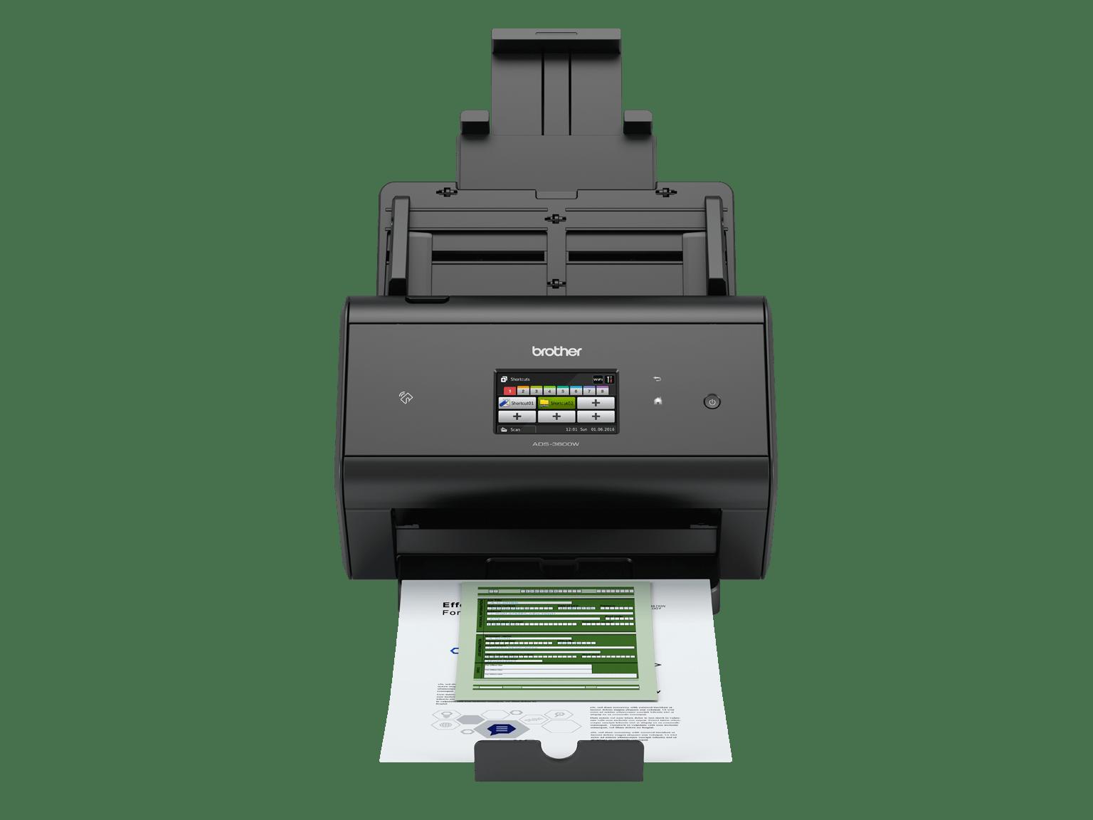 Découvrez les scanners de bureau de Brother pour les professionnels