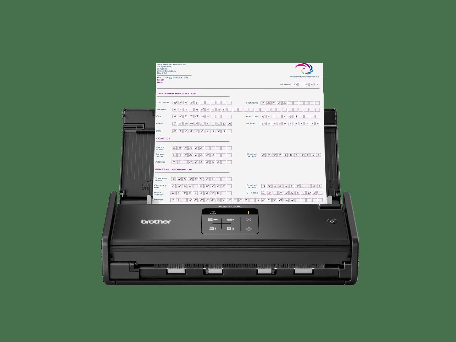 Découvrez les scanners compact de Brother