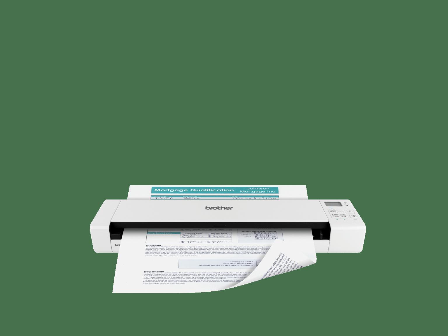 Scanners portables et  mobiles pour professionnels - Brother
