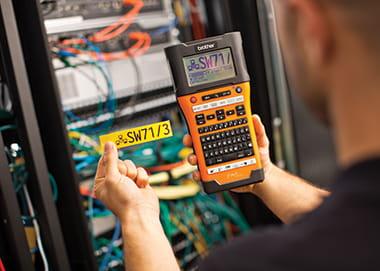 Promotion étiqueteuses électriciens, datacom avril 2019