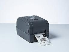 TD-4T imprimante d'étiquettes de bureau imprimant l'étiquette d'expédition