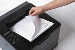Profitez de la vitesse d'impression impressionnante de l'imprimante laser HL-L5000D