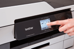 Profitez du clavier tactile intuitif de l'imprimante multifonction MFC-J6720DW de Brother