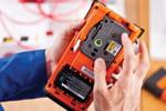 Les professionnels peuvent emmener leur étiqueteuse PT-E550WVP partout avec eux