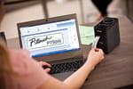 Titreuse PT-P750W : étiqueteuse plug and print