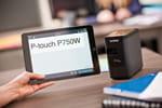 Imprimez en WiFi depuis vos appareils mobiles avec la titreuse PT-P750W