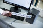 Vous pouvez facilement retirer les étiquettes de la PT-P950NW