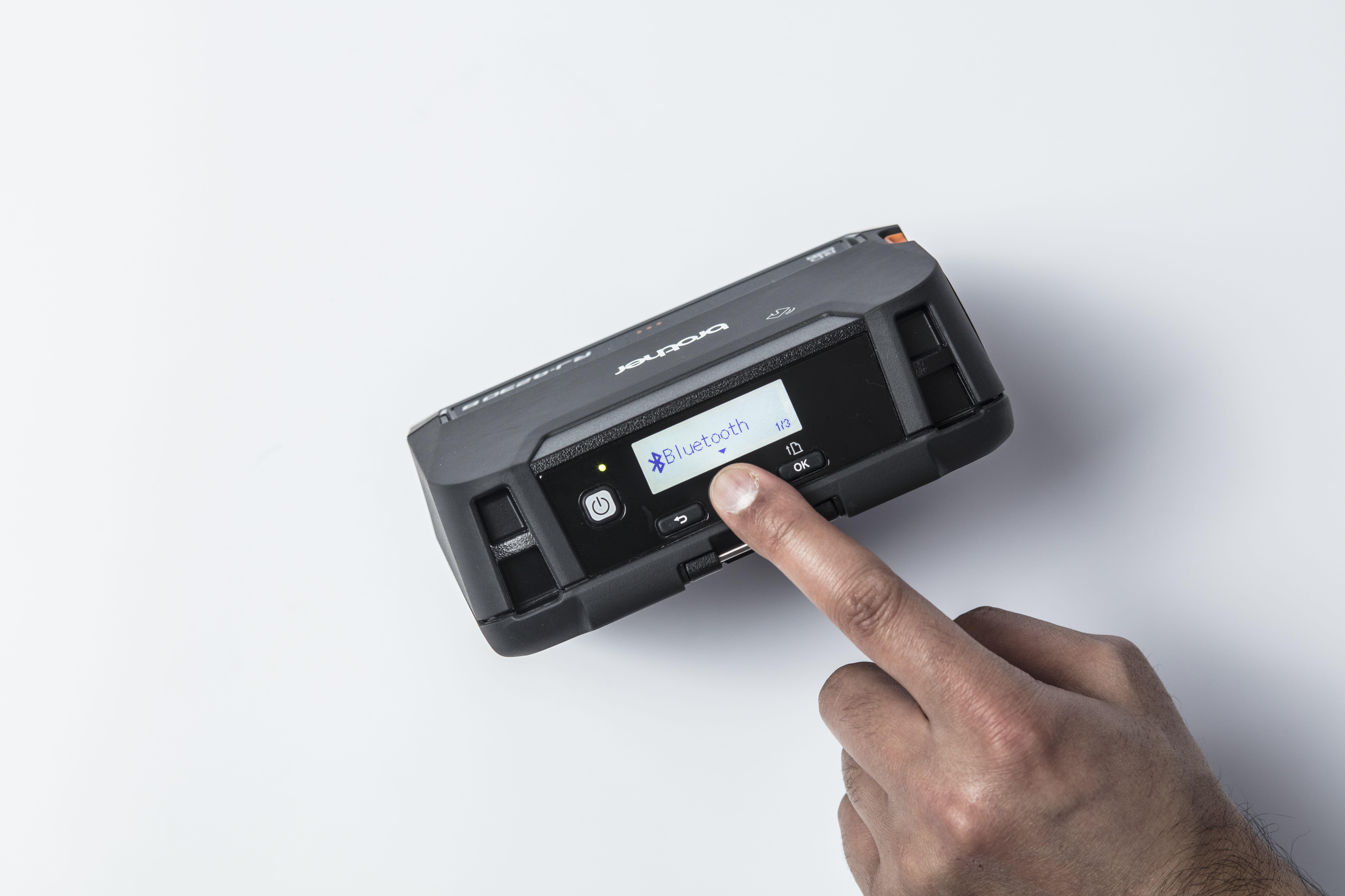 Écran LCD éclairé - Imprimante RJ-4230B