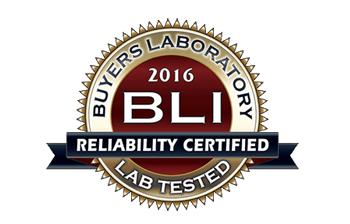Buyers Laboratory 2016 BLI Award logo
