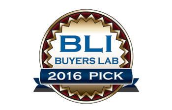 BLI Buyers Lab 2016 Pick Award logo