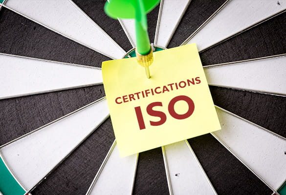 Certification ISO - consommables Brother