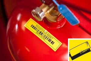 Rubans laminées - étiquettes testées jusqu'à l'extrême