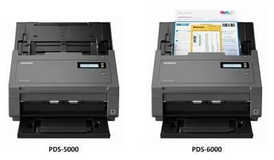 Nouveau scanners Brother PDS-5000 et PDS-6000