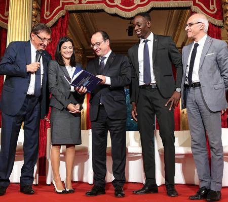 Brother signe le Livre Blanc NQT à l'Elysee