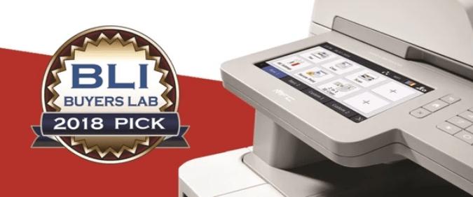 imprimante laser couleur MFC-L9570CDW de Brother récompensée par prix BLI Winter Pick Award 2018