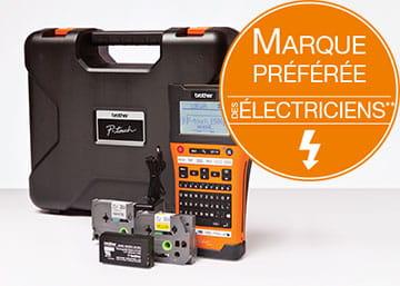 Brother, marque préférée des professionnels du secteur électrique