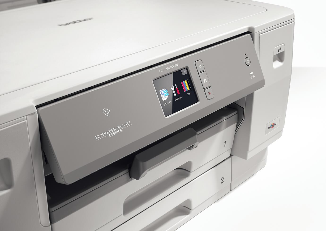 Brother renouvelle sa gamme d'imprimantes  jet d'encre professionnelles avec les Business Smart Série X