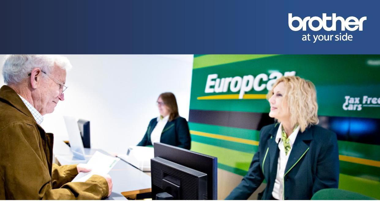 Europcar brother imprimante