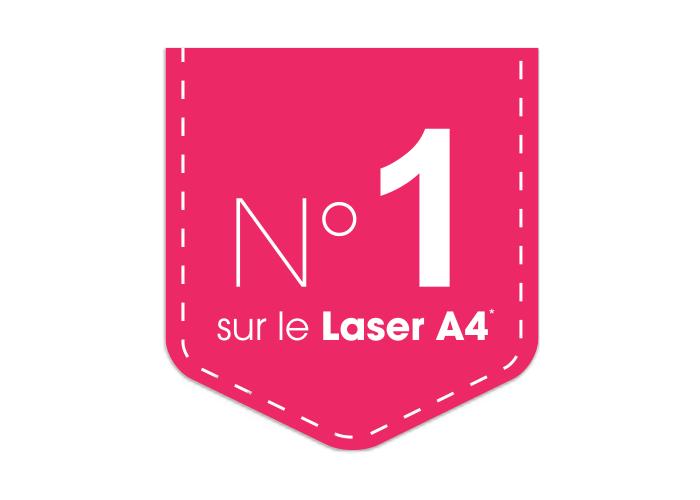 Brother Numéro 1 sur le laser A4